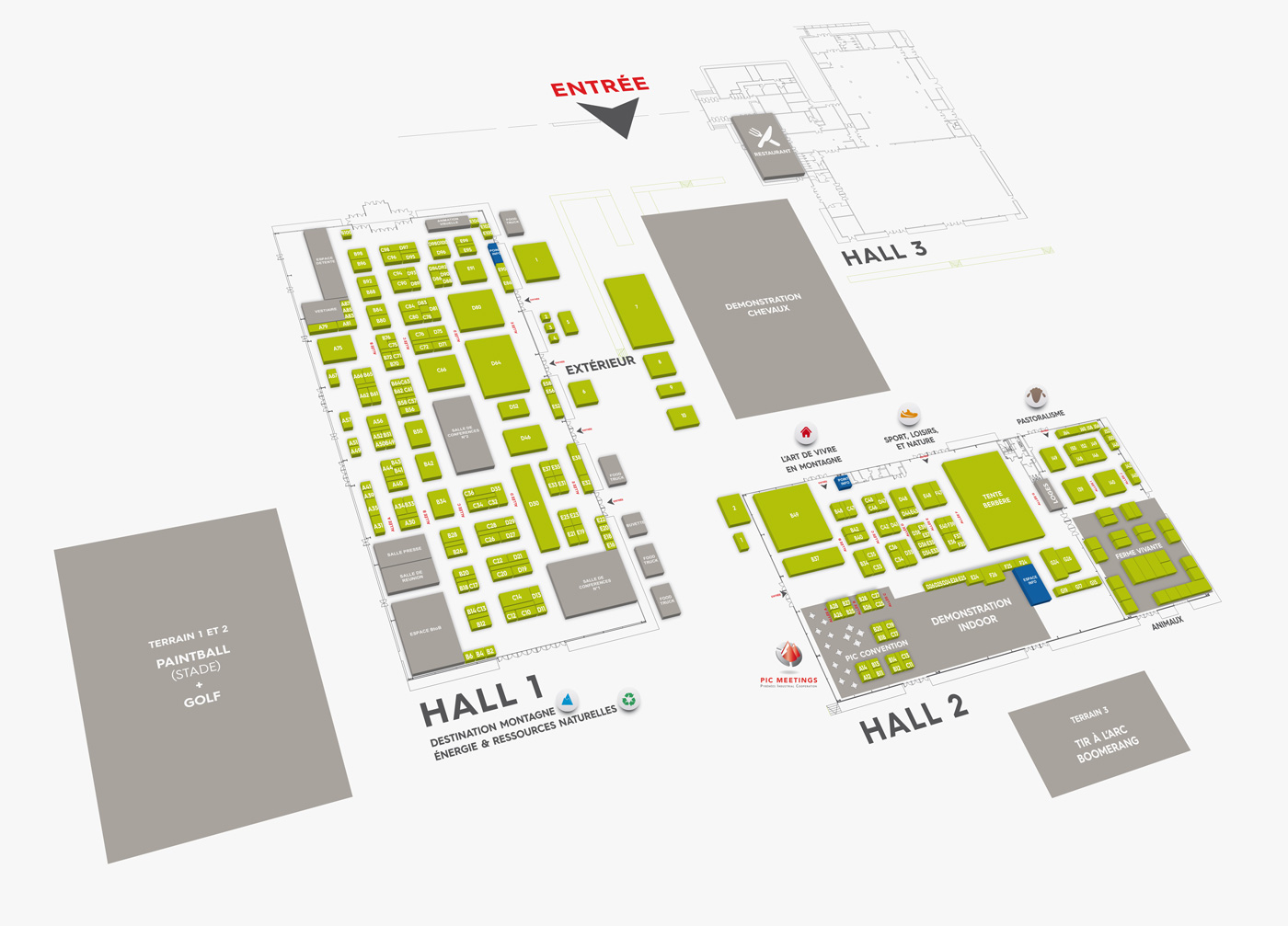 Mountain Business Summit Mbs-2017-floor-map-grey